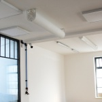 Redwell infrarood verwarming Pipewave montage plafond 1